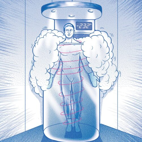 Dr John Featured in Sarasota Magazine for Cryotherapy